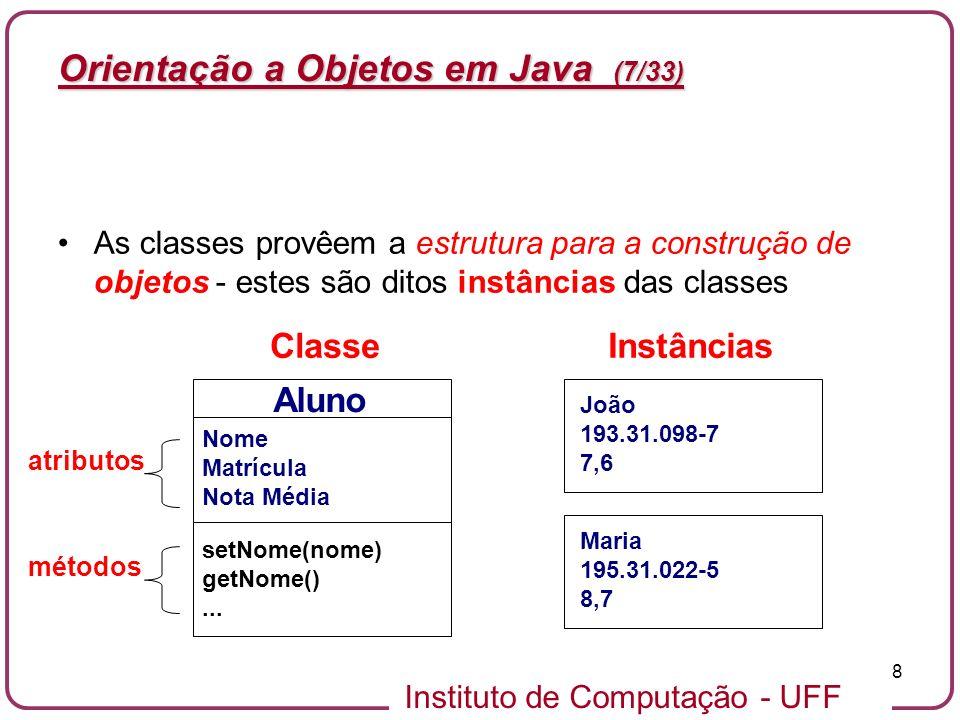 Orientação a Objetos em Java (7/33)