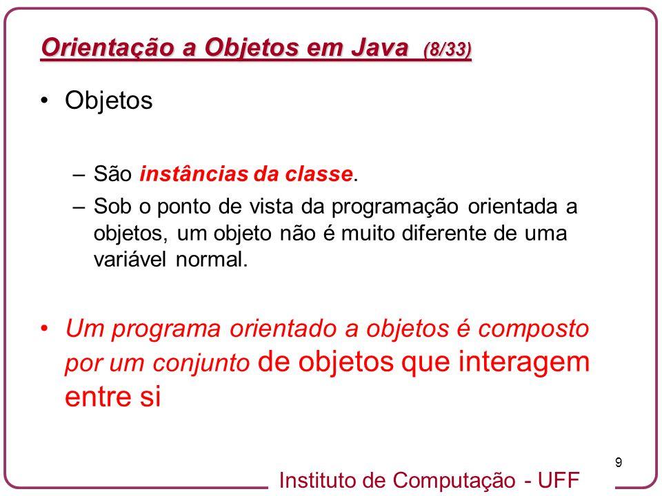 Orientação a Objetos em Java (8/33)