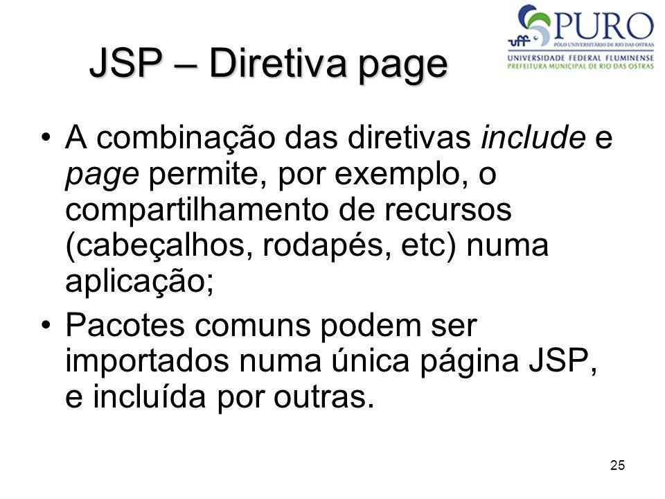 JSP – Diretiva page