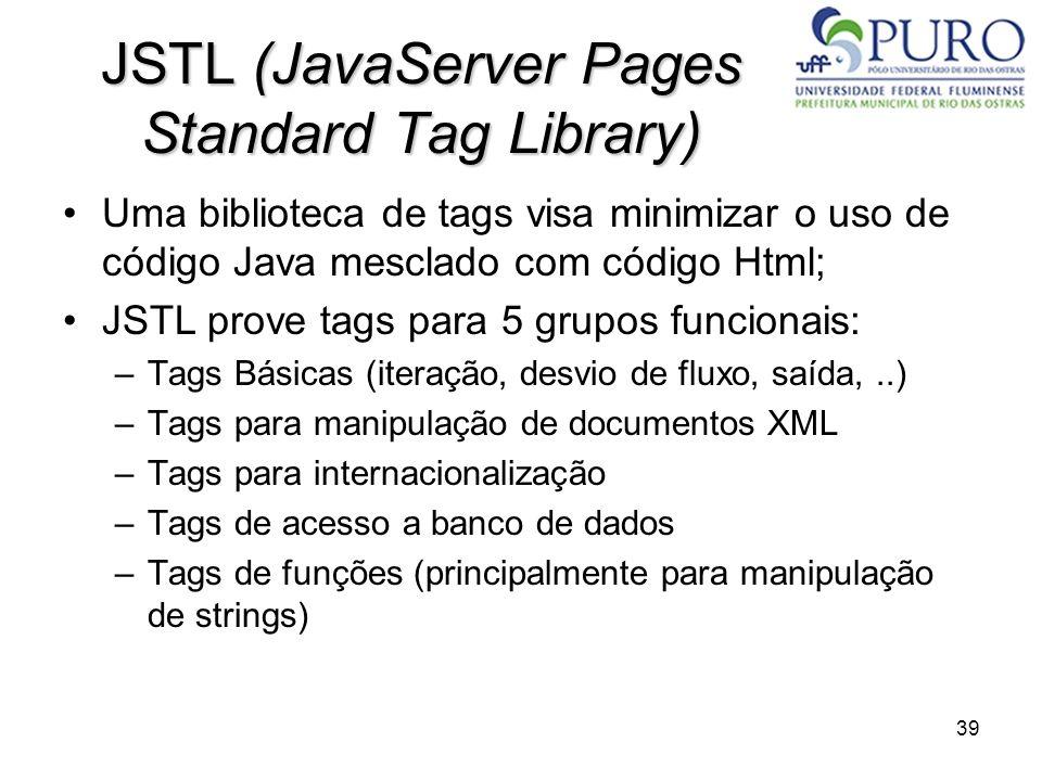 JSTL (JavaServer Pages Standard Tag Library)