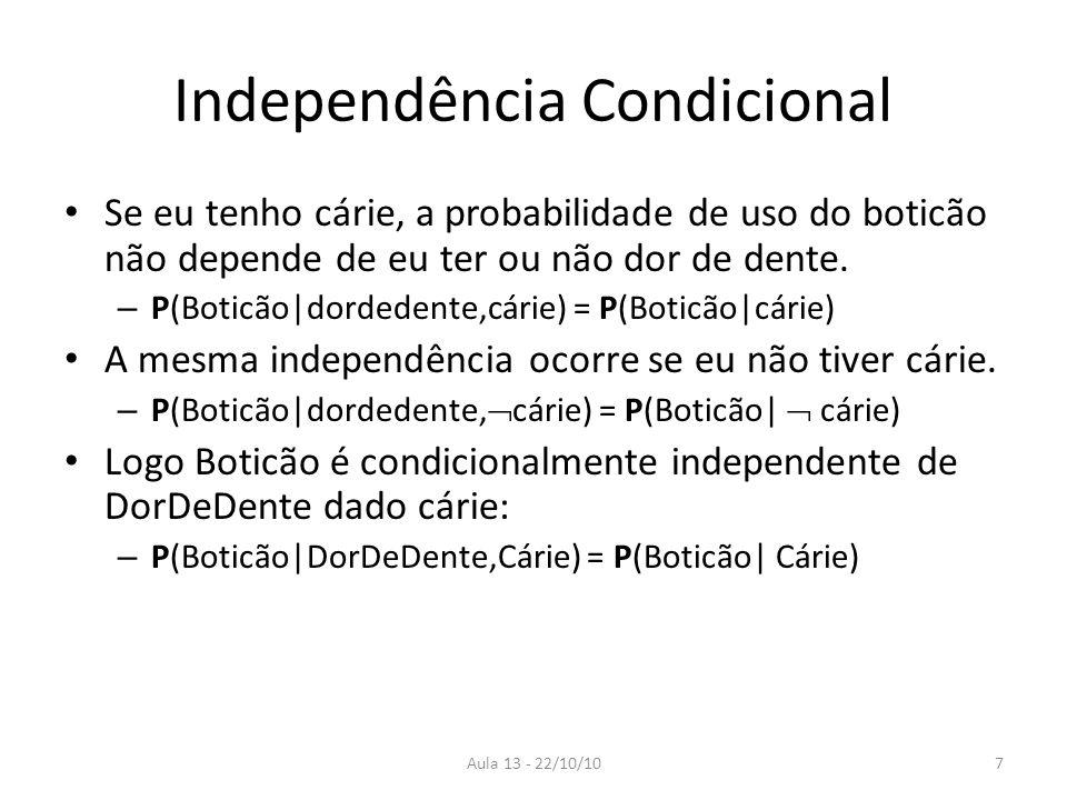 Independência Condicional
