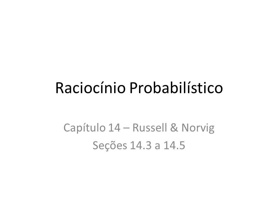 Raciocínio Probabilístico