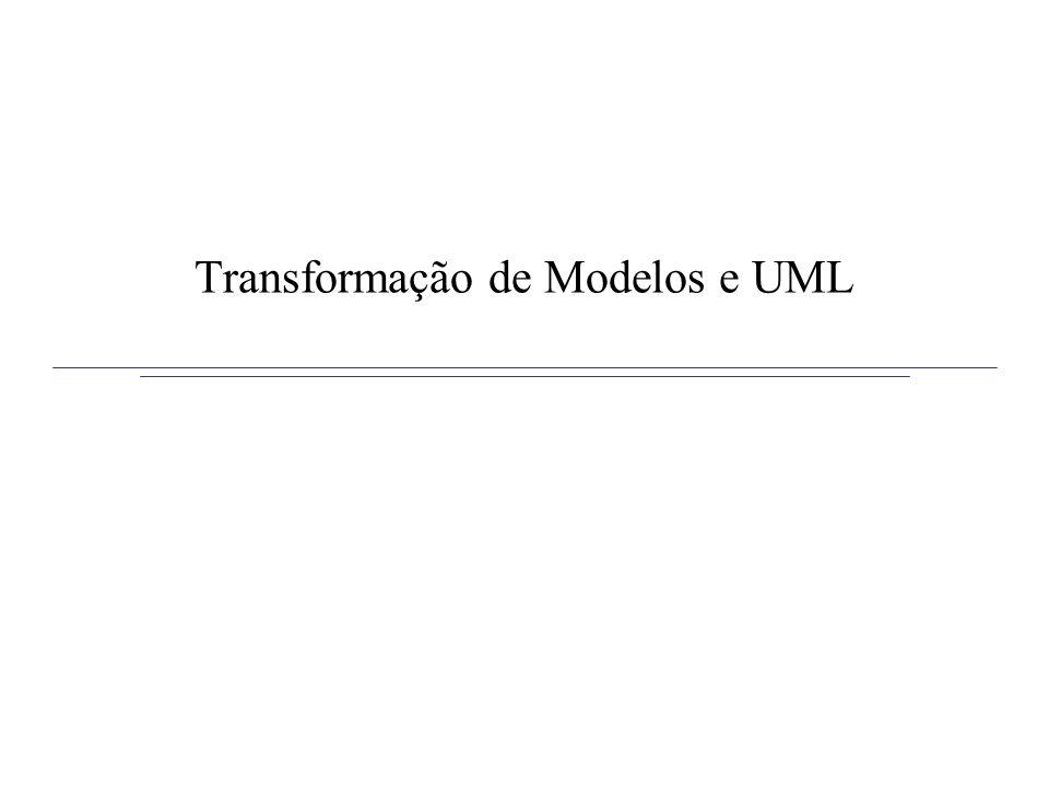 Transformação de Modelos e UML