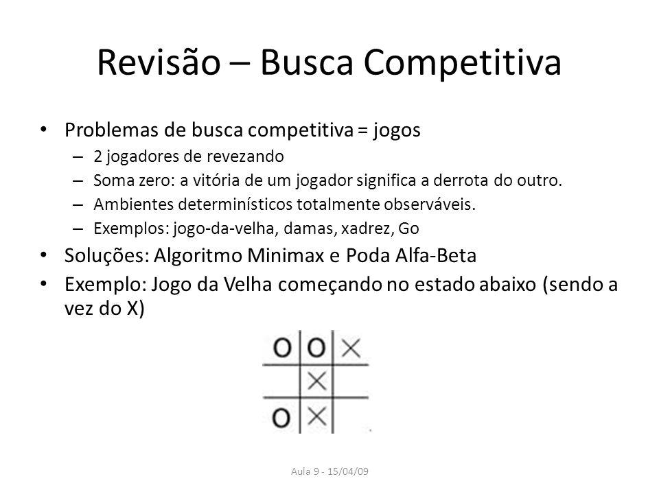 Revisão – Busca Competitiva