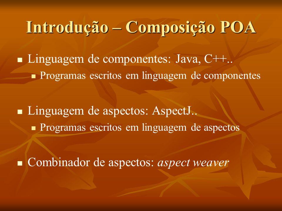 Introdução – Composição POA