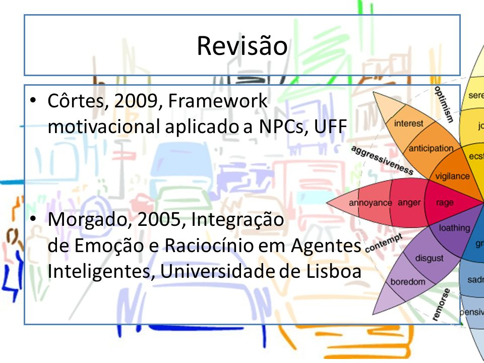 Revisão Côrtes, 2009, Framework motivacional aplicado a NPCs, UFF