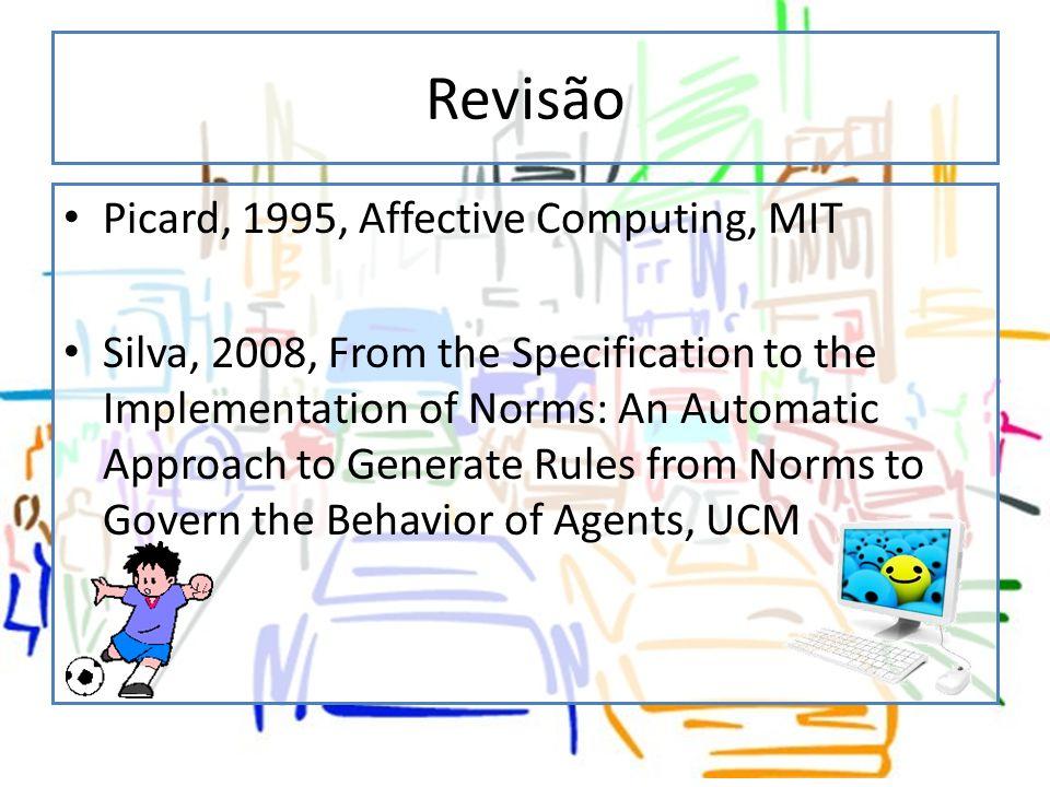 Revisão Picard, 1995, Affective Computing, MIT