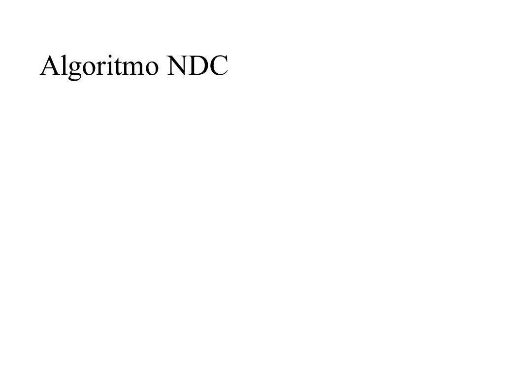 Algoritmo NDC