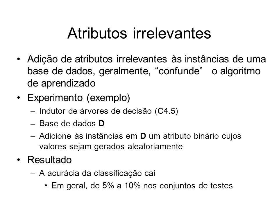 Atributos irrelevantes