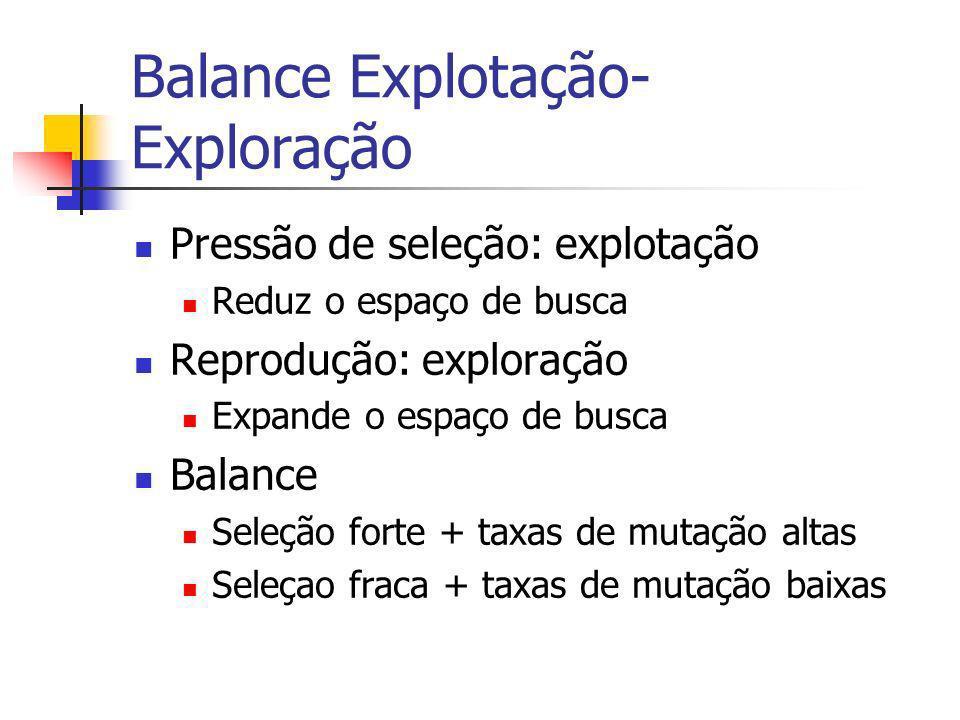 Balance Explotação-Exploração