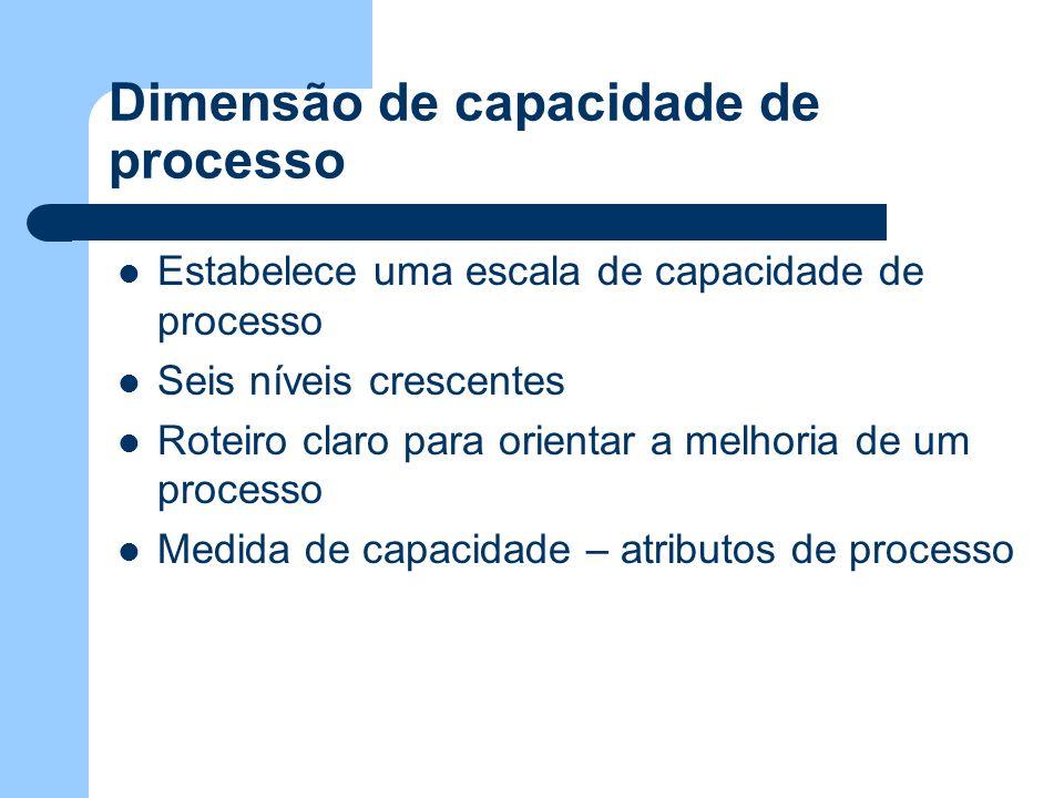 Dimensão de capacidade de processo