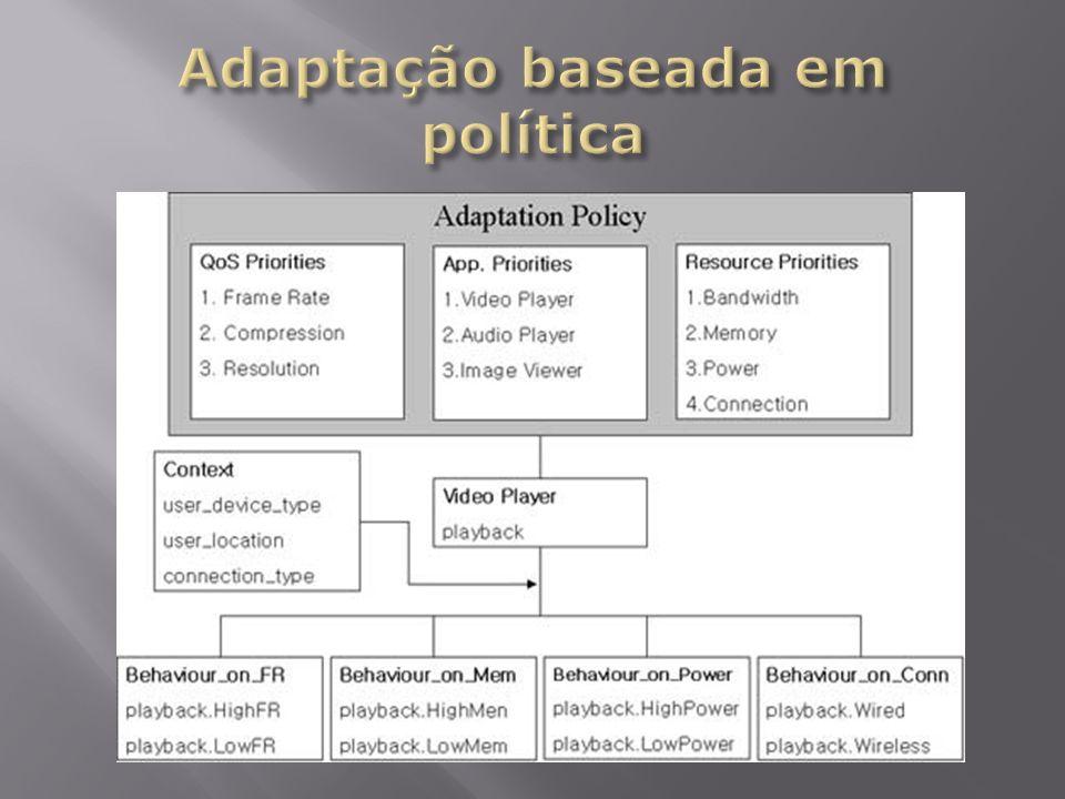 Adaptação baseada em política