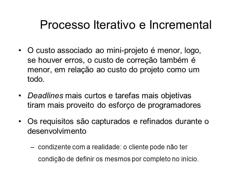 Processo Iterativo e Incremental
