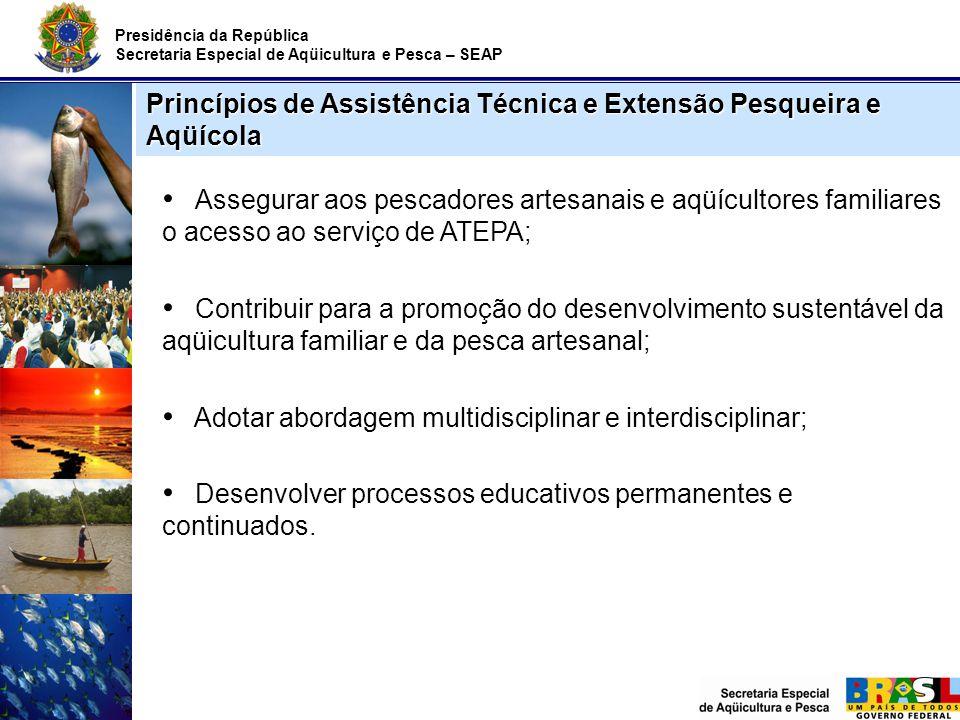 Princípios de Assistência Técnica e Extensão Pesqueira e Aqüícola