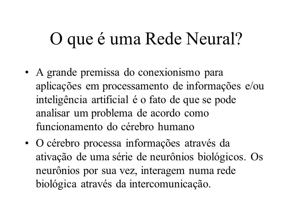 O que é uma Rede Neural