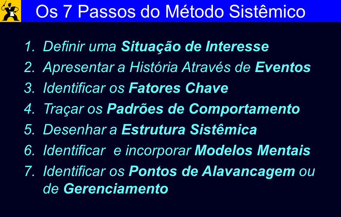 Os 7 Passos do Método Sistêmico