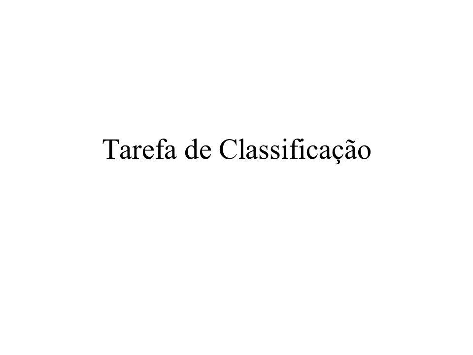 Tarefa de Classificação