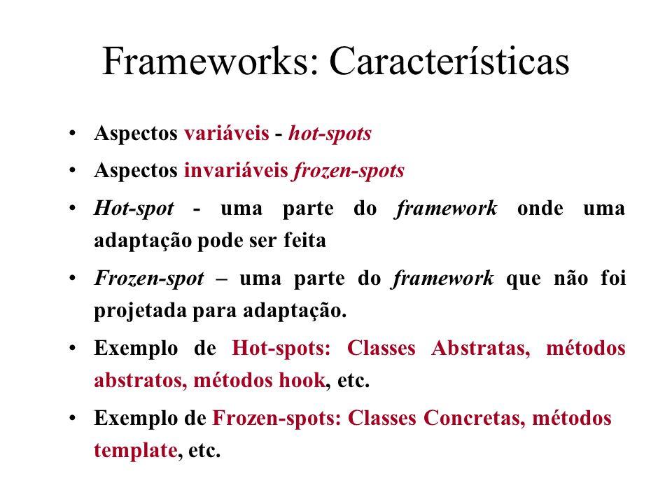 Frameworks: Características