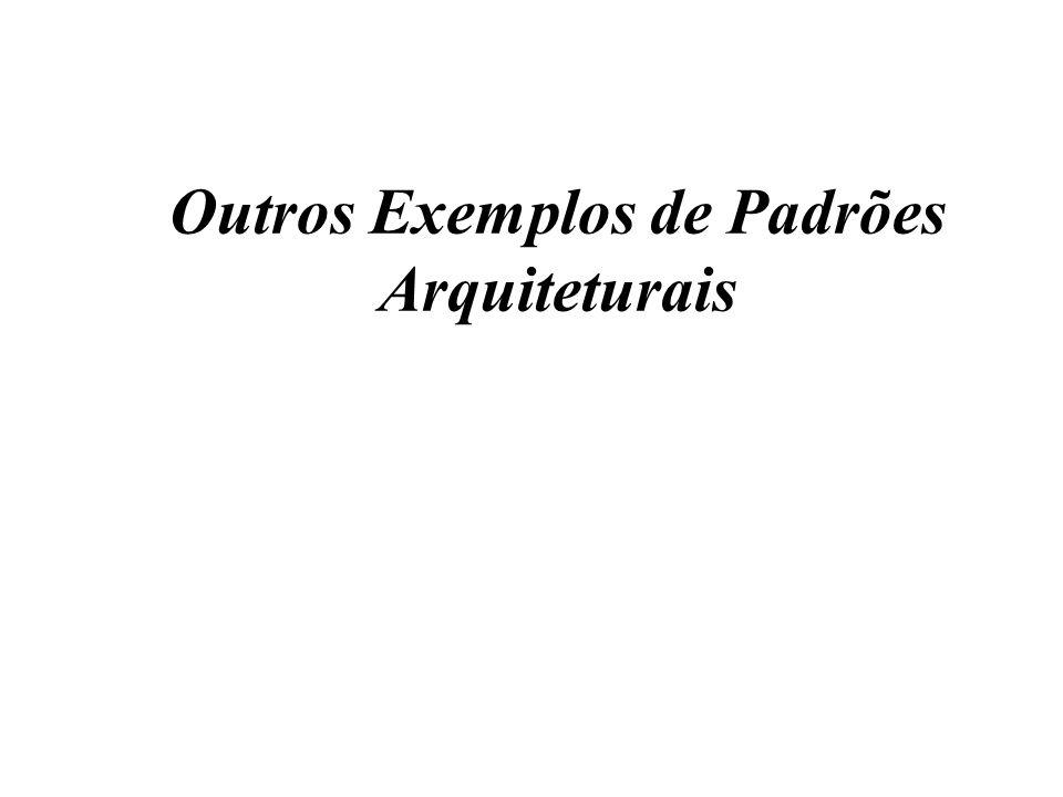 Outros Exemplos de Padrões Arquiteturais