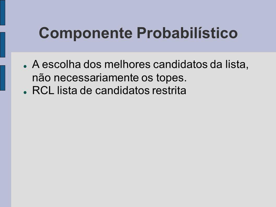 Componente Probabilístico