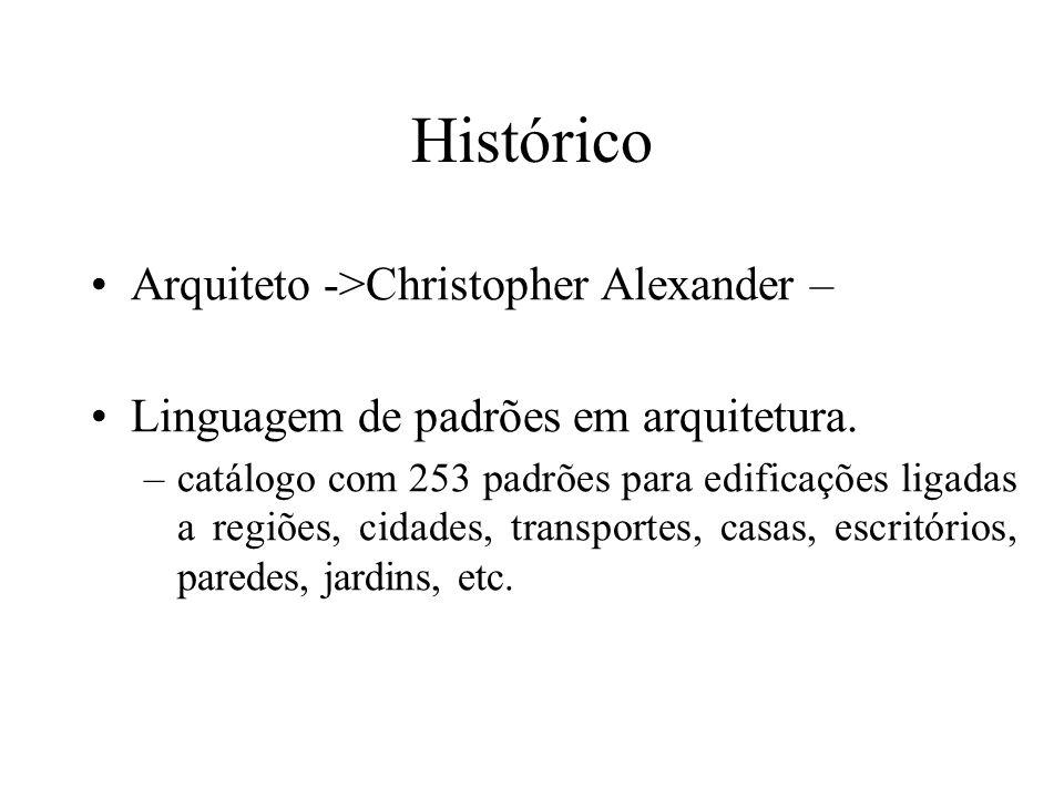 Histórico Arquiteto ->Christopher Alexander –
