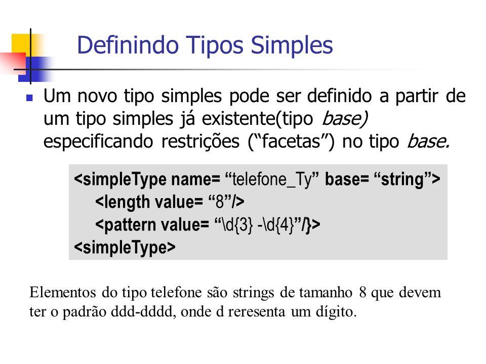 Definindo Tipos Simples