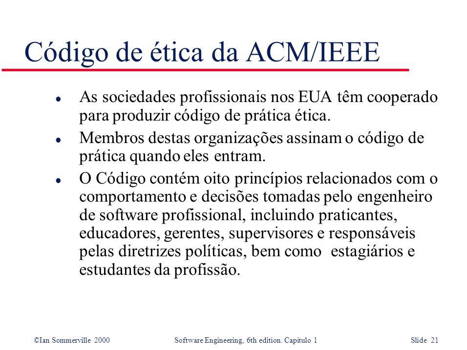 Código de ética da ACM/IEEE