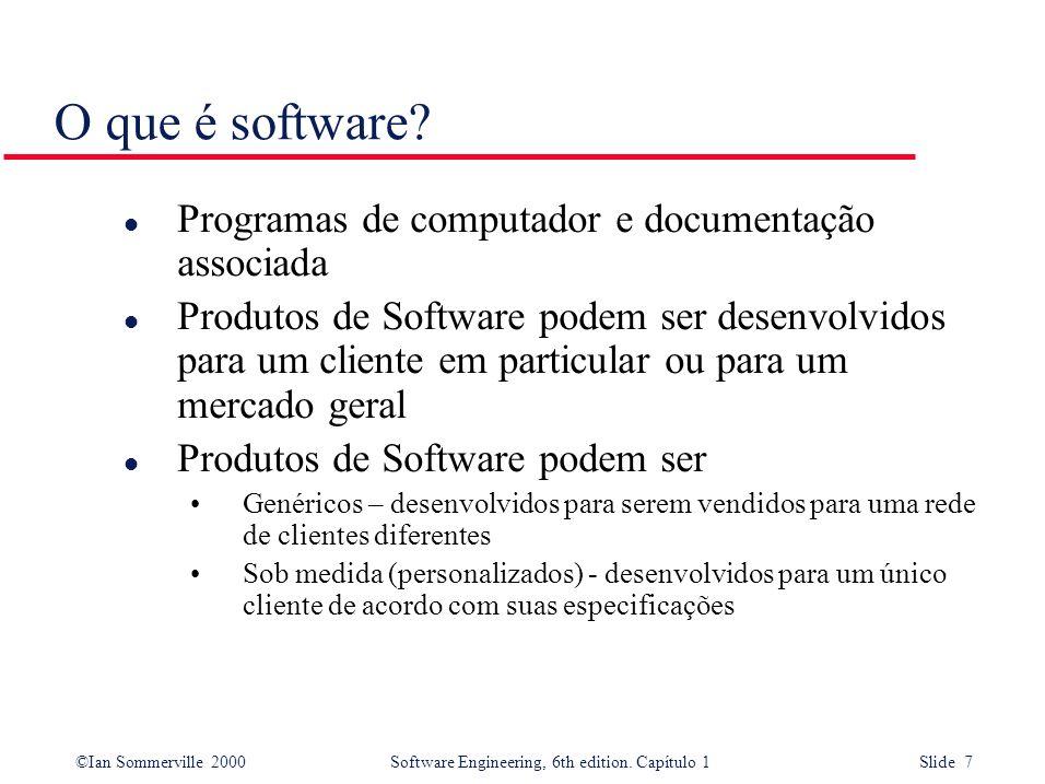 O que é software Programas de computador e documentação associada