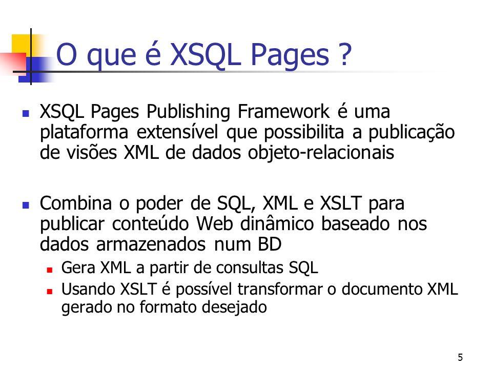 O que é XSQL Pages