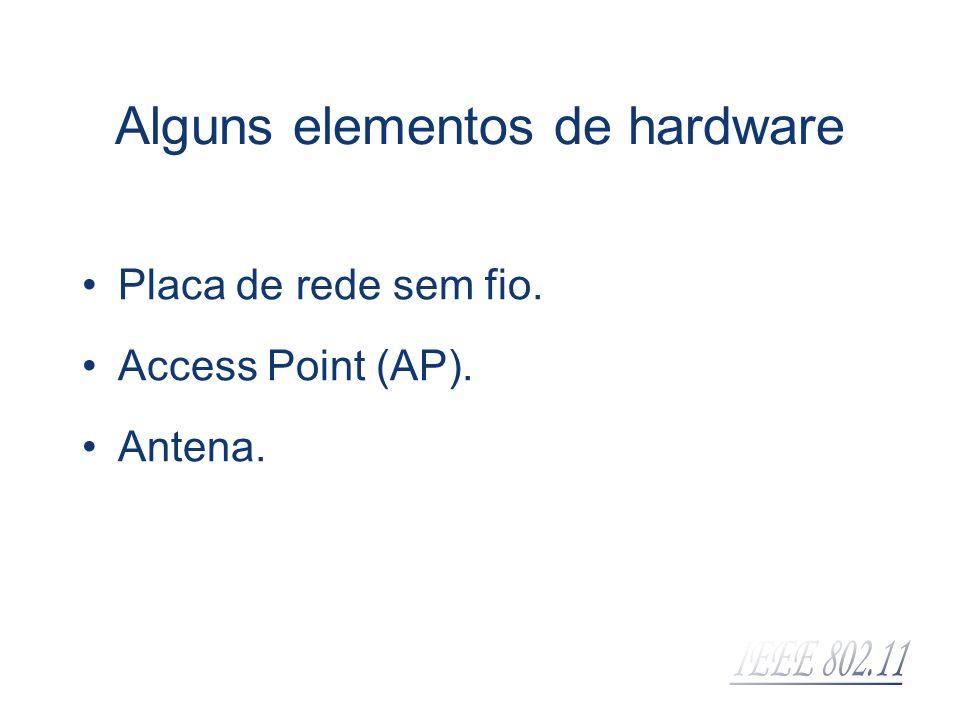 Alguns elementos de hardware