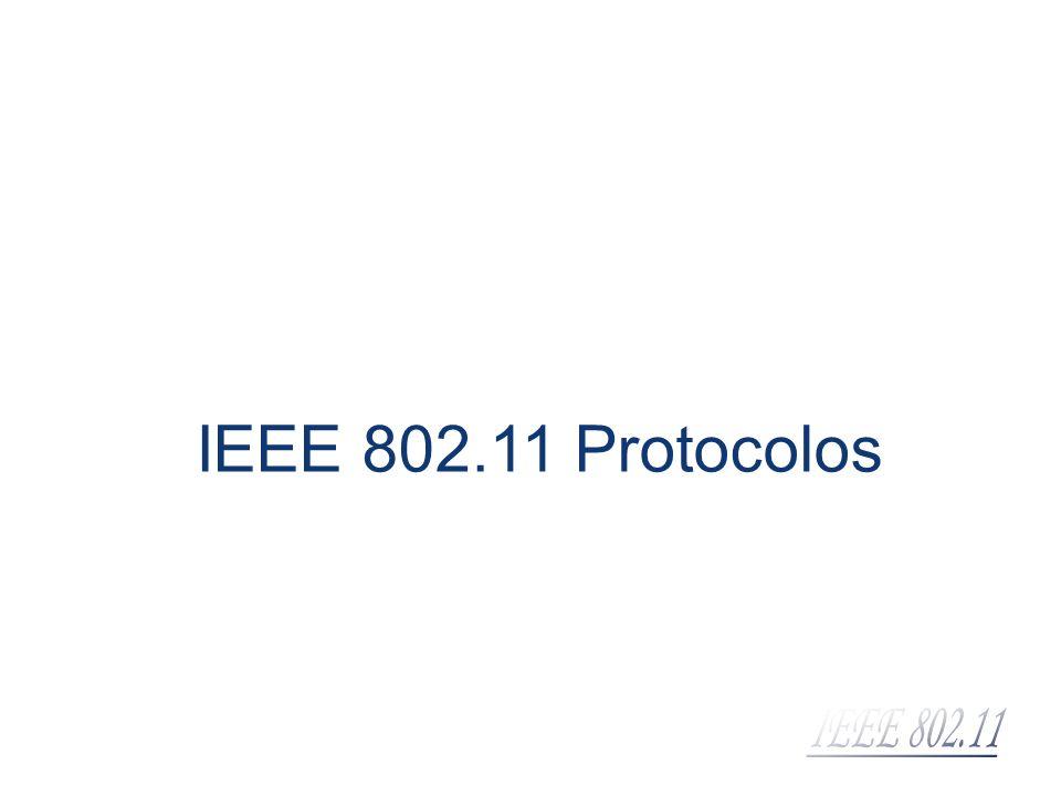 IEEE 802.11 Protocolos