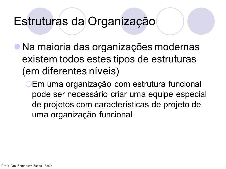 Estruturas da Organização