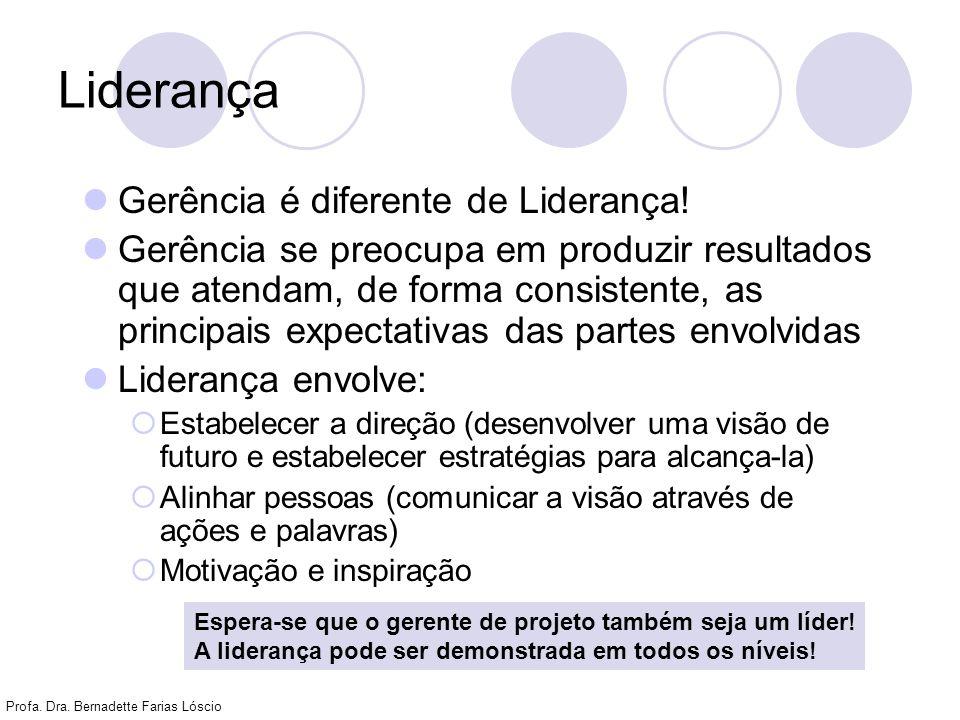 Liderança Gerência é diferente de Liderança!