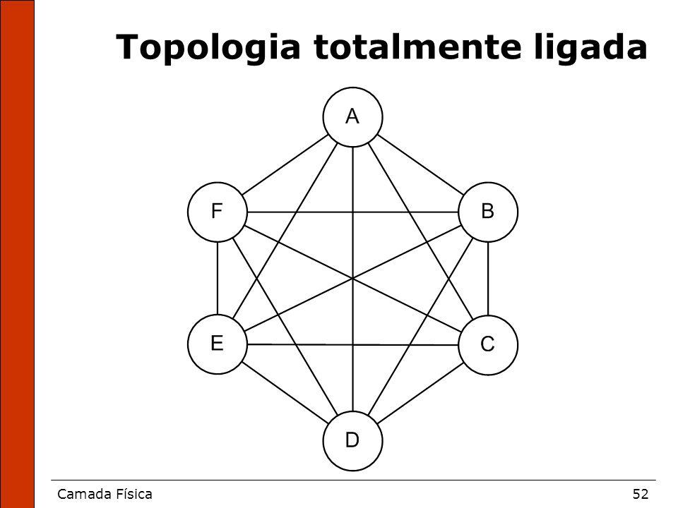 Topologia totalmente ligada