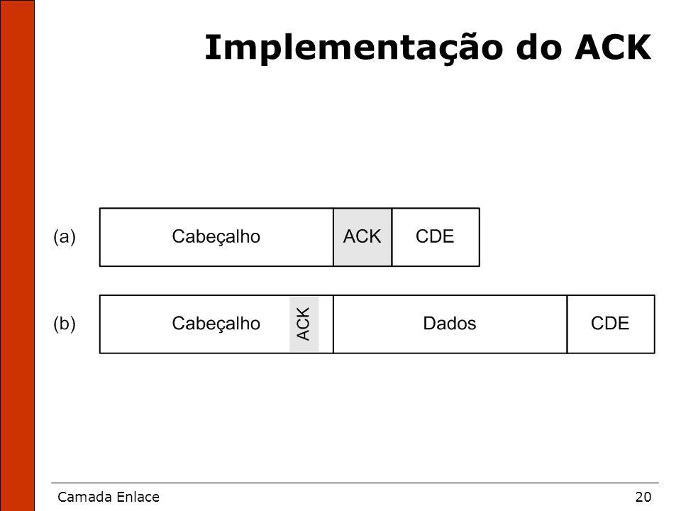 Implementação do ACK