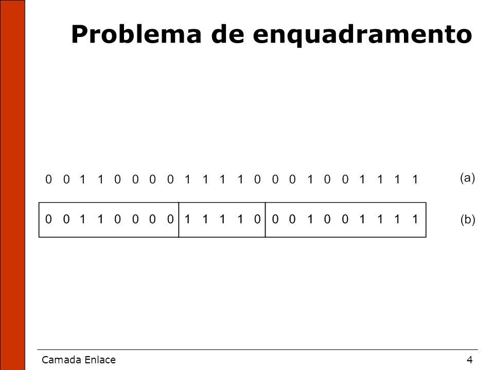 Problema de enquadramento