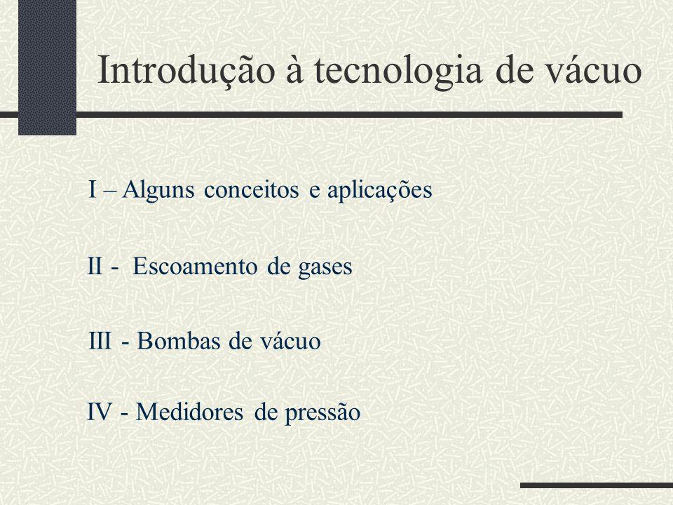 Introdução à tecnologia de vácuo