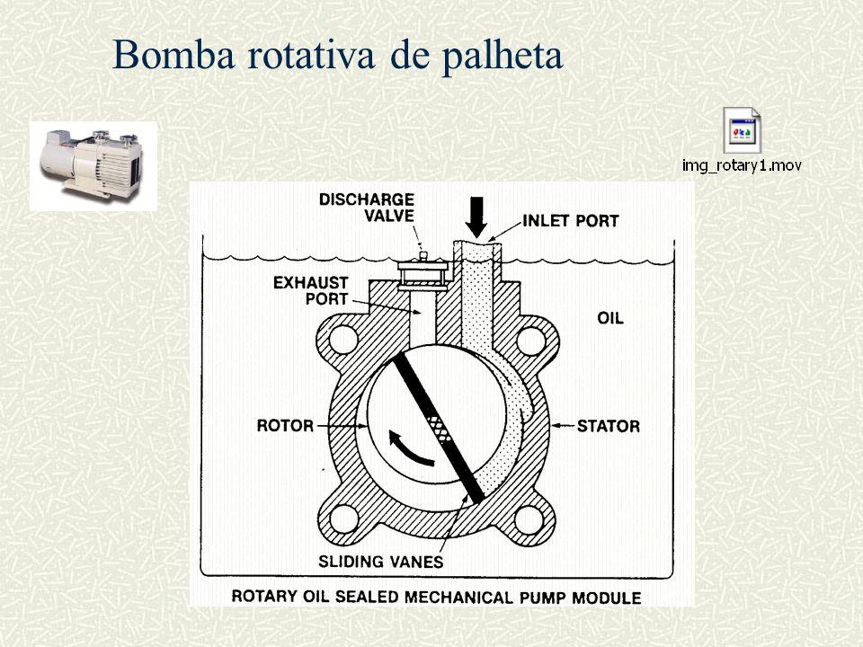 Bomba rotativa de palheta