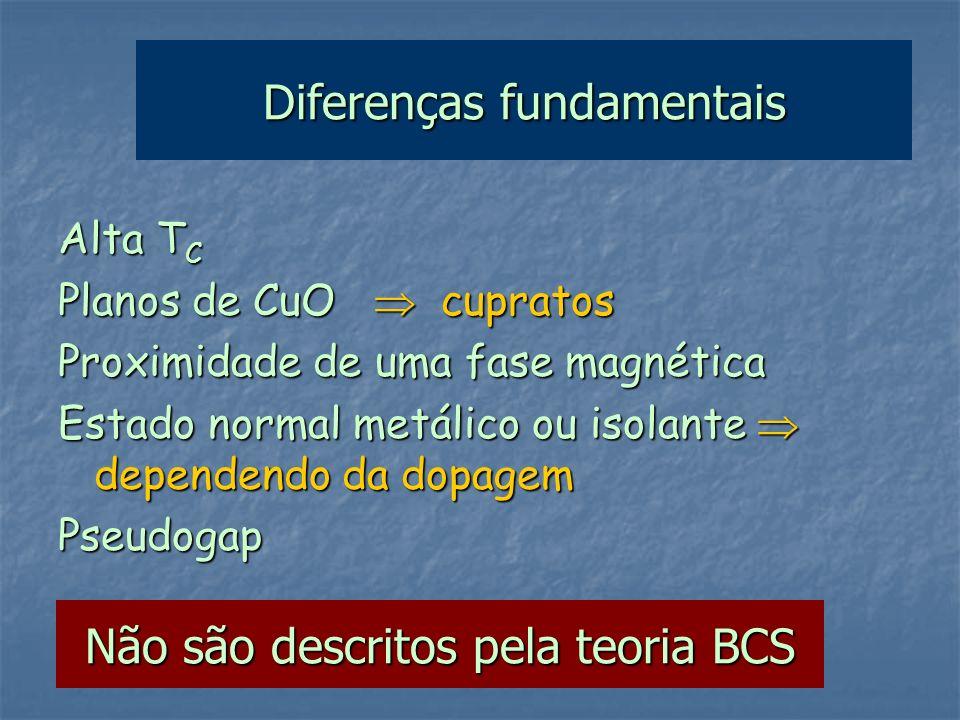 Diferenças fundamentais