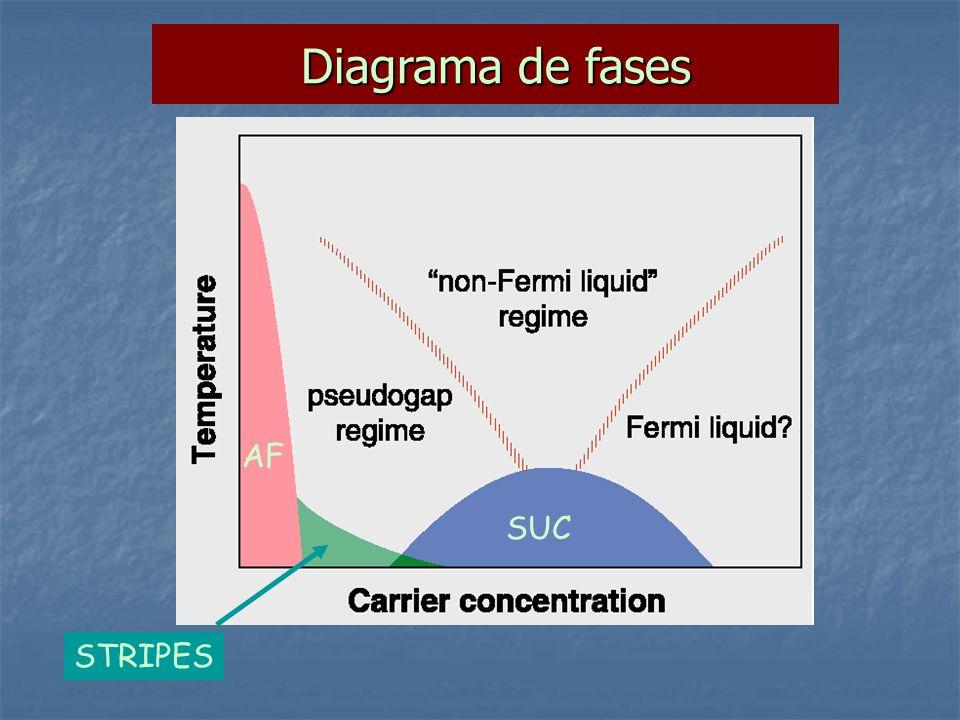 Diagrama de fases AF SUC STRIPES
