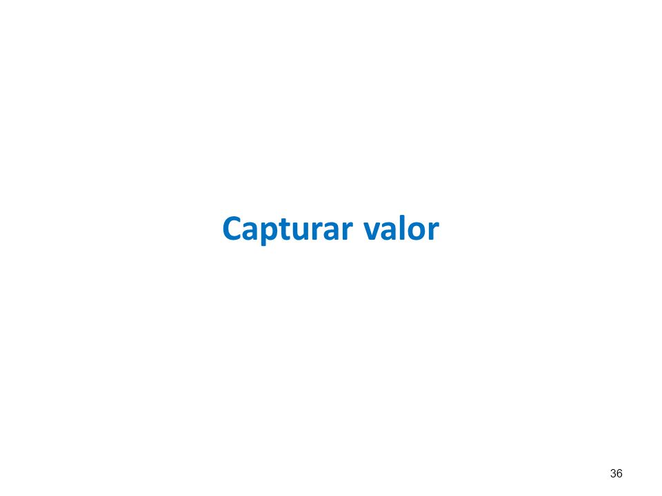 Capturar valor