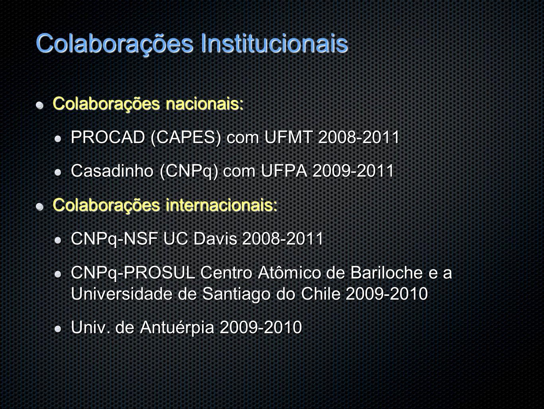 Colaborações Institucionais