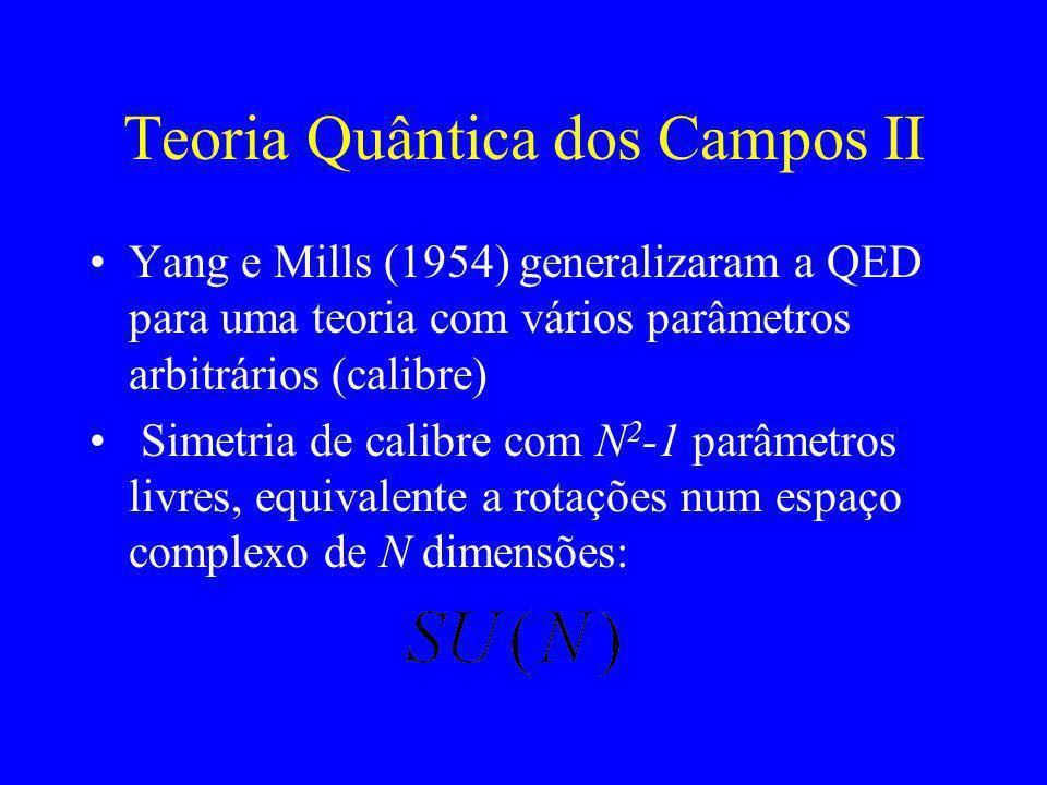 Teoria Quântica dos Campos II