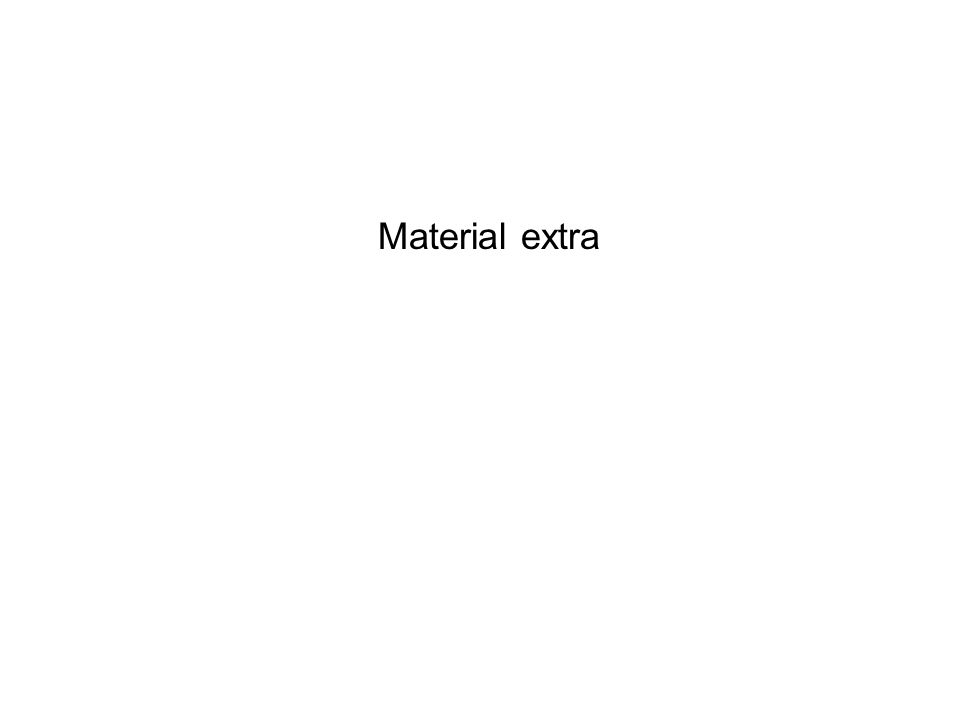 Material extra