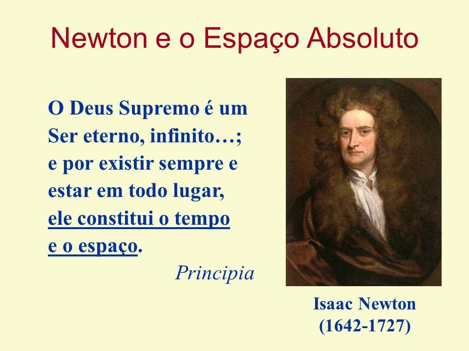 Newton e o Espaço Absoluto