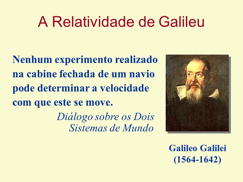 A Relatividade de Galileu