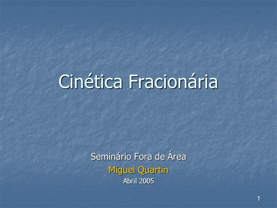 Seminário Fora de Área Miguel Quartin Abril 2005