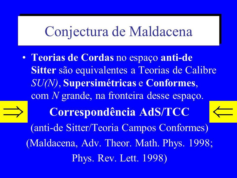 Conjectura de Maldacena