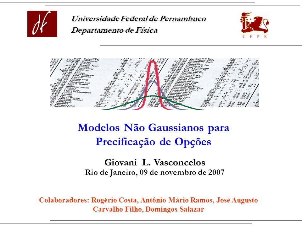 Modelos Não Gaussianos para Precificação de Opções