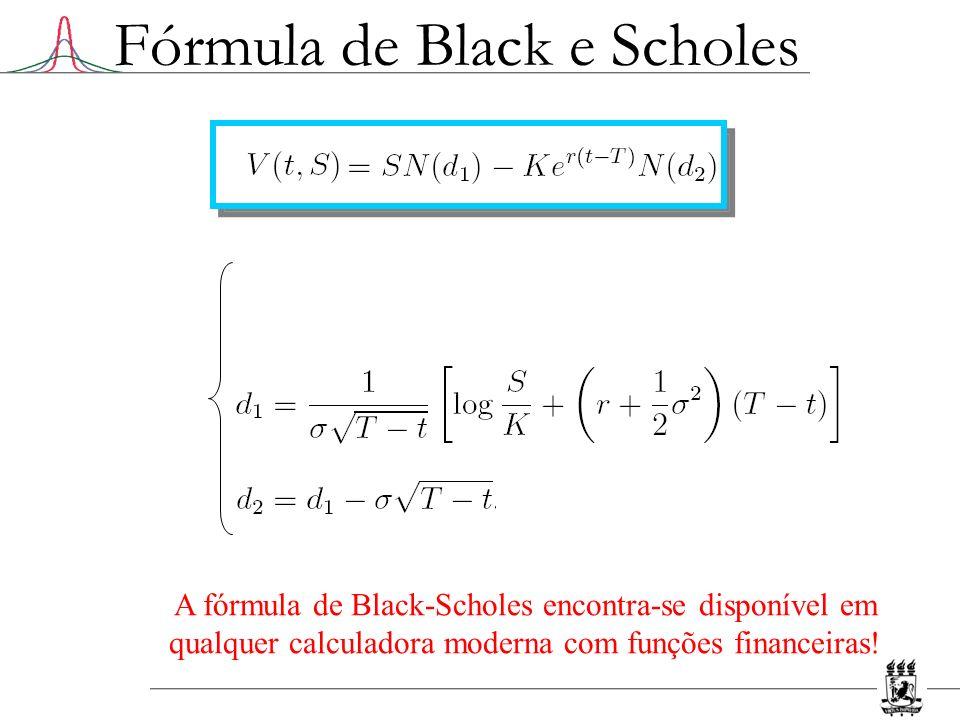 Fórmula de Black e Scholes